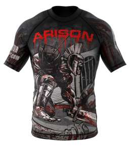 "Rashguard Gladiator-fight.com ""ARISEN"""