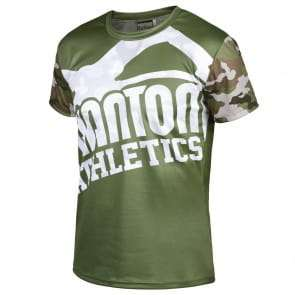 "Phantom Athletics Shirt ""EVO Warfare"" – Woodland Camo"