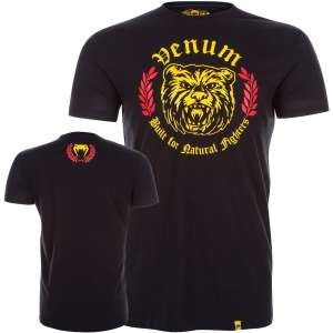 Venum Natural Fighter Bear T-shirt Black