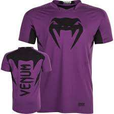 Venum Hurricane X Fit TM T-shirt PURPLE/BLACK