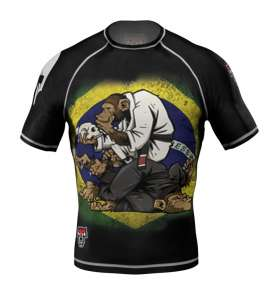 "RASHGUARD GLADIATOR-FIGHT.COM ""MONKEY"" NOWOŚĆ 2017"