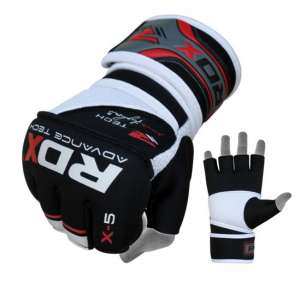 RDX Neoprene Power Fighter Grappling Gloves