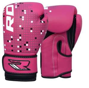 RDX Kids Leather-X 4oz Boxing Gloves