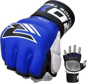 GRAPPLING GLOVE 7 OZ TGX-4U BLUE - MEGA PROMOCJA !
