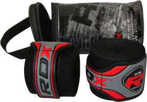 BLACK Auth RDX Pro Hand Wraps Bandages, Boxing Gloves