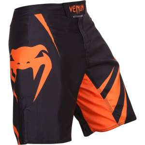 Venum Challenger MMA Fight Shorts - Black/Neo Orange