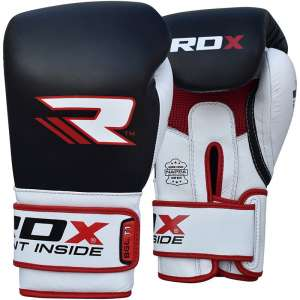 RDX Cow Hide Leather Training Boxing Gloves BGL-T1 GEL PRO