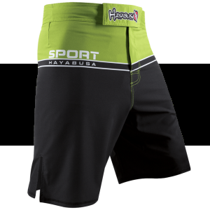 HAYABUSA SPORT TRAINING SPODENKI MMA Lime Green