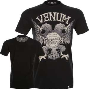 Venum T-shirt Black Eagle Fedor Signature