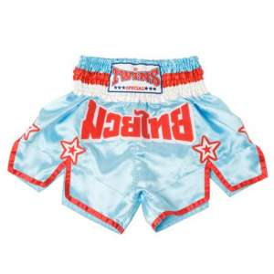Spodenki TWINS Muay Thai K1 Kichboxing blue