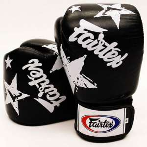 Rękawice bokserskie Fairtex Black Nation