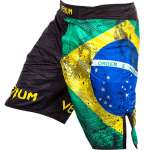 VENUM BRAZILIAN FLAG FIGHTSHORTS - BLACK