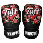 Tuff MuayThai Gloves Rose Black