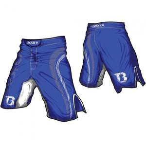 Booster Pro 2 MMA Shorts Blue