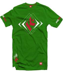 T-SHIRT K-SQUARE ZIELONY