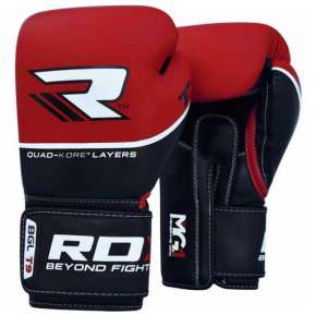 RDX QUAD-KORE LEATHER TRAINING GLOVES