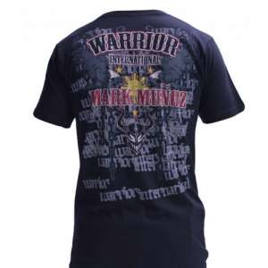 Warrior Marc Munoz t-shirt black