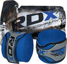 Authentic RDX Professional Blue Hand Wraps Bandages, Boxing Gloves AU