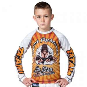 KIDS ZEN GORILLA RASH GUARD