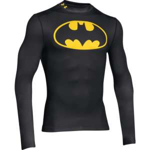 UA Alter Ego Batman Coldgear Compression Mock