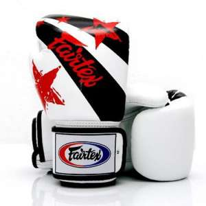 RĘKAWICE BOKSERSKIE FAIRTEX WHITE NATION