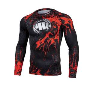 LONGSLEEVE RASHGUARD BLOOD DOG