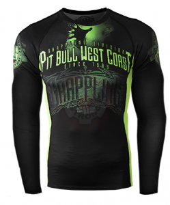 Pit Bull Grappling 2014 rashguard long