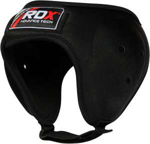 Authentic RDX MMA Head Guard Protector Black