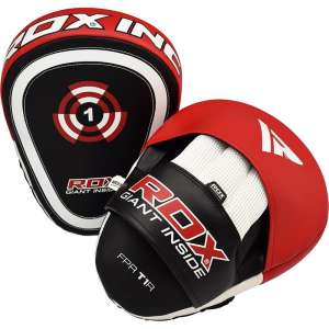 Authentic RDX  Golden Kick Pads for Boxing & MMA