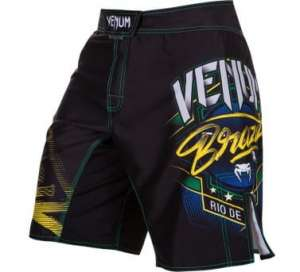 VENUM CARIOCA 3.0 FIGHT SHORTS - BLACK