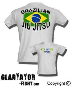 Koszulka-tshirt- Brazilian Fighter-Gladiator