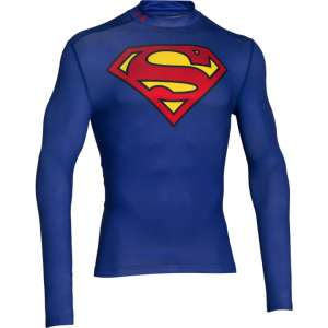 UA Alter Ego Superman Coldgear Compression Mock