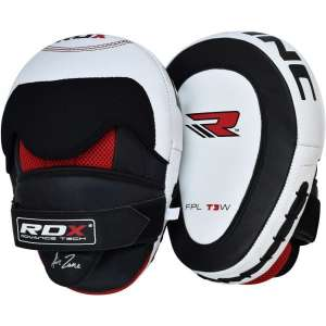Authentic RDX Leather Focus Pads for Boxing & MMA Sports