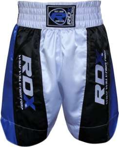 Authentic RDX Pro Fight Shorts Blue White