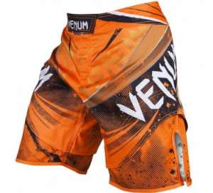 "VENUM ""GALACTIC"" FIGHTSHORTS - NEO ORANGE"