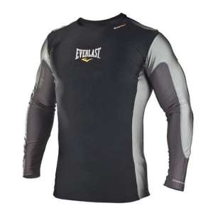 EVERLAST LONG SLEEDVED RASHGUARD CZARNY