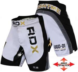 Authentic RDX UFC Golden White Shorts
