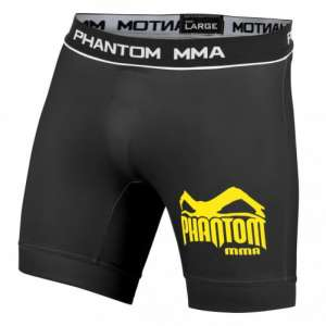 Phantom MMA Vale Tudo Szorty - Black / Yellow